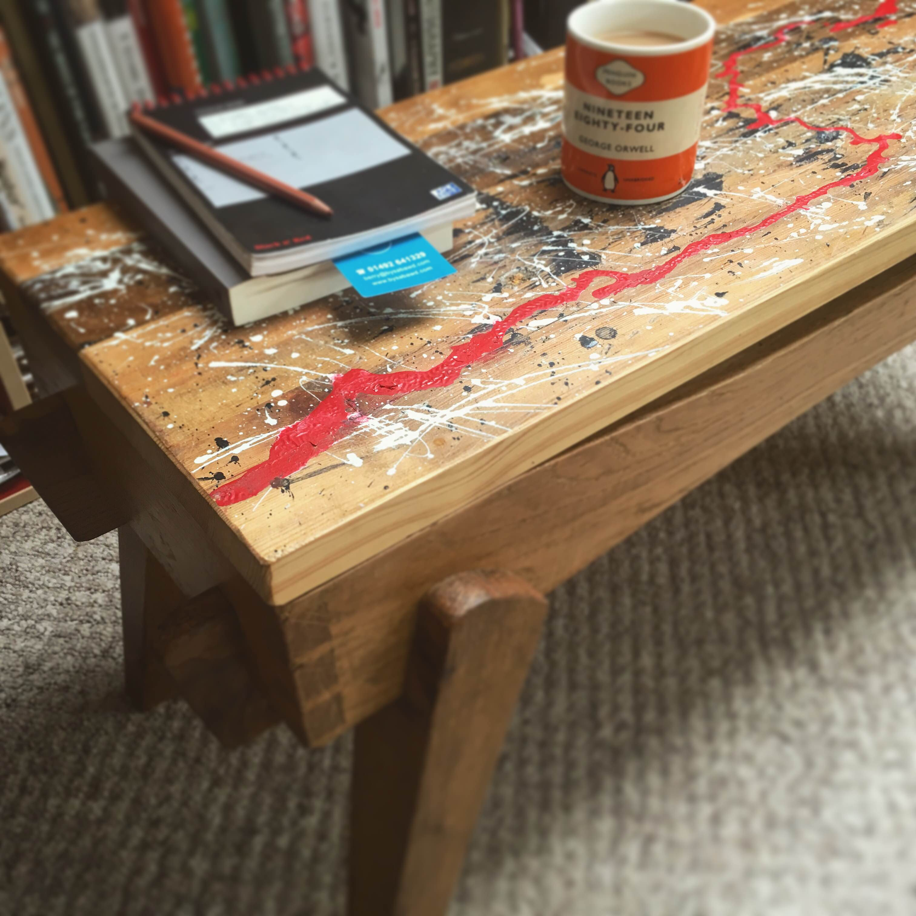 Mainc Arlunydd – Artist's Bench
