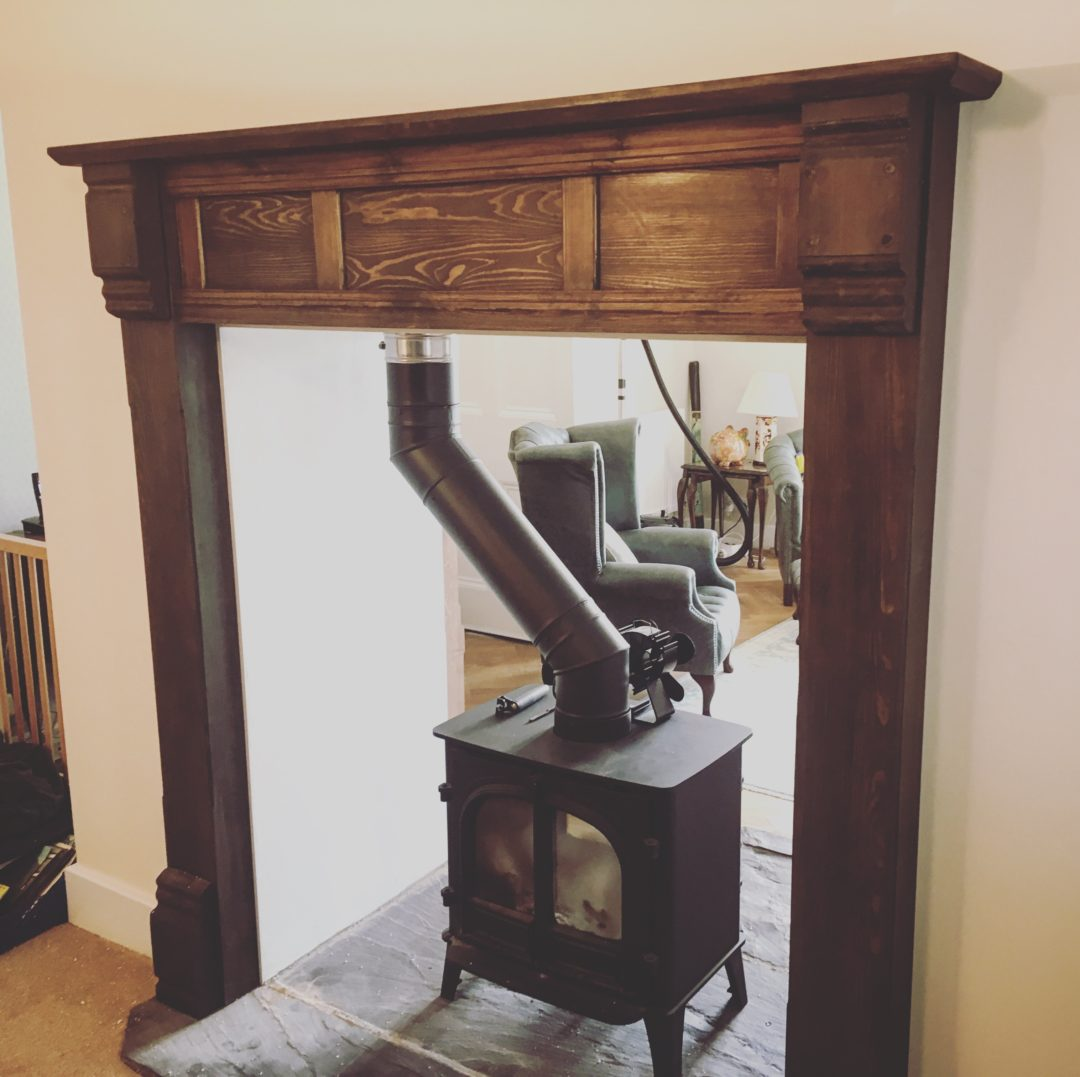 Cwmpas Lle Tân Plaen – Plain Fireplace Surround