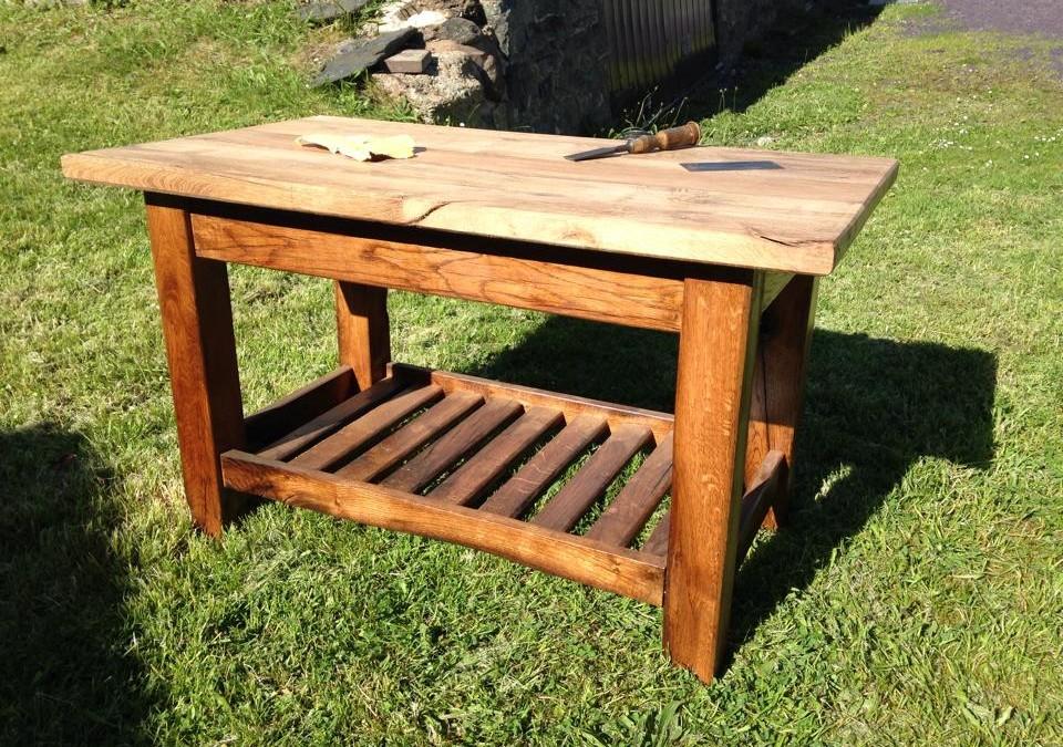 Bwrdd Coffi Derw | Oak Coffee Table